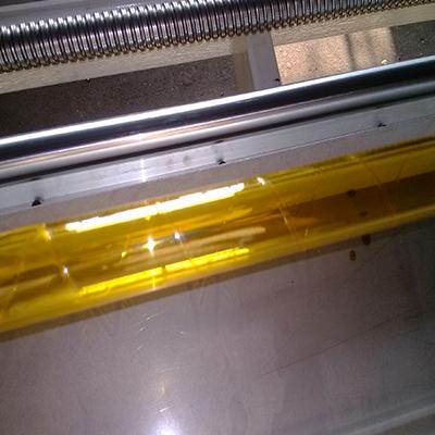 石英管PE膜绕膜机